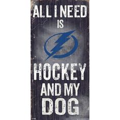 Fan Creations Colorado Avalanche Hockey and My Dog Wall Décor NHL Team: Tampa Bay Lighting Dog Football, Football Signs, Dog Signs, Wall Signs, Tampa Bay Lighting, Chalkboard Background, Colorado Avalanche, Family Signs, Lightning