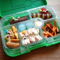 Fab #yumbox lunch from the boy and me