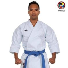"""Karategi VENUM """"ELITE KATA 12OZ"""" WKF Approved Blanco. Algodón premium ultra pesado, para una sensación suave en la piel. Con su densidad única e incomparable, este Venum gi es ideal para Kata"""