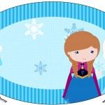 Placa Frozen Cute