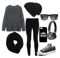 """""""Comfy"""" by jilld727 ❤ liked on Polyvore featuring Toast, NIKE, Converse, Wyatt, Phase 3, Ray-Ban, Casetify and Master & Dynamic"""