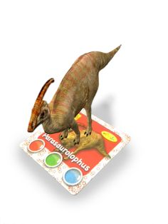 ARC: Dino Augmented Reality interactive learning cards from Amagicland, 3D animations, sound & music. www.amagicland.com