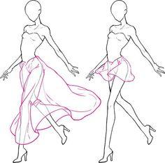 Clothes. Folds
