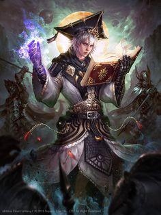 Mobius Final Fantasy :Scholar:, Livia Prima on ArtStation at https://www.artstation.com/artwork/z5y4Z