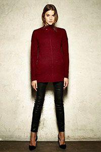 Style#: Sp18328 Rylan Mock Neck Tunic Cashmere