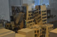 A model of the UTS business school designed by Frank Gehry. Photo Designer's Atelier