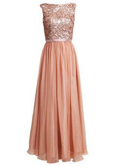 Luxuar Fashion Suknia balowa apricot / prom dress maxi pink