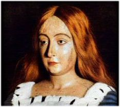 Jacquetta Of Luxembourg, mother of the Queen of England Elizabeth Woodville, suspected witch, all around badass.