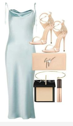 Mar 2020 - A fashion look from June 2017 by olivia-mr featuring Topshop, Giuseppe Zanotti, Jeweliq and NARS Cosmetics Slip Dress Street Style, Classy Outfits, Stylish Outfits, Dressy Casual Outfits, Classy Clothes, Dress Outfits, Fashion Dresses, Rock Outfits, Emo Outfits