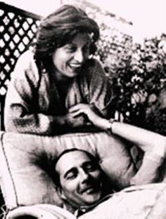 Anna Magnani & Roberto Rossellini in 1945 Lea Massari, Movie Couples, Famous Couples, Cinema Film, Cinema Movies, Jean Sorel, Italian Neorealism, Roberto Rossellini, Anna Magnani