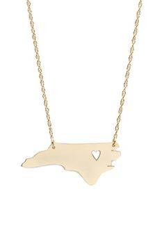 Moon  amp  Lola Metal State Necklace--w  cutout over home! State d3b76fd4ee76