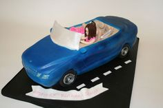 How to Make a Car Cake
