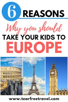 6 reasons why Europe is the ultimate family vacation – Best Europe Destinations Best Family Vacations, Family Vacation Destinations, Top Travel Destinations, Europe Travel Guide, Vacation Trips, Family Travel, Vacation Spots, Vacation Ideas, Travel Tips