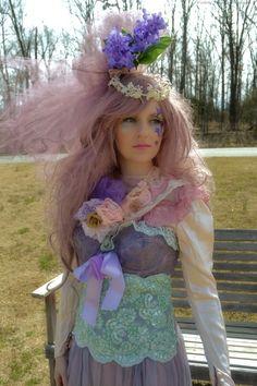 Victory Vintage Style & Art Blog: Rose Wine & Harmony Bride