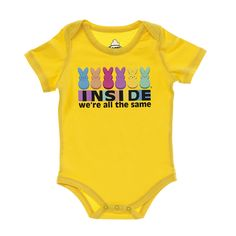 INSIDE WERE ALL THE SAME SIGNATURE INFANT ONESIE