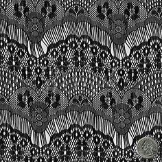 Black Stretch Eyelash Lace Fabric by the Yard or Wholesale - 1 Yard Stylishfabric ~ $6.50 per yard... T~Shirt redos