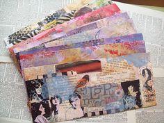 Altered Envelope Set by gillmangirl, via Flickr