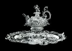 Silver ewer and basin with mythological decoration by Anonymous from Gdańsk, possibly Salomon von der Rennen, century, Private collection. 17th Century, Anonymous, Basin, Mythology, Decoration, Silver, Collection, Decor, Decorations