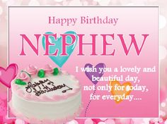 30th Birthday Wishes For Nephew ~ Nephew birthday messages: happy birthday wishes for nephew wordings