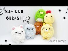Mini Amigurumi Update Sumikko Gurashi Making my Own Pattern - YouTube Made Video, The Creator, Crafting, Crochet, Mini, Youtube, Pattern, How To Make, Amigurumi