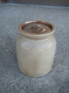 Old butter crock