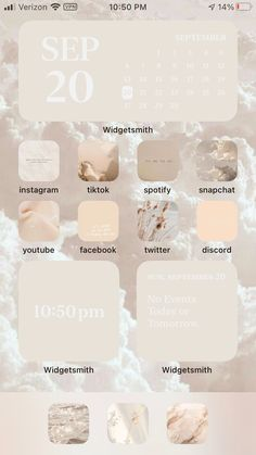 Iphone Home Screen Layout, Iphone App Layout, Iphone App Design, Iphone Wallpaper Ios, Iphone Wallpaper Tumblr Aesthetic, Ios Wallpapers, Home Tumblr, Ios Update, Phone Themes