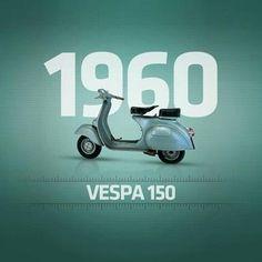Vespa. Timeless Design. Ahead of The Space Age. #vespa #vintage