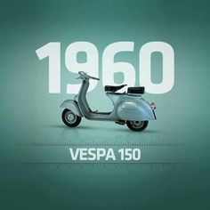 Vespa. Timeless Design. Ahead of The Space Age. #vespa #vintage
