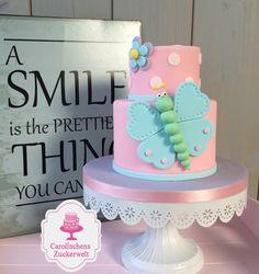 Butterfly Fondant cake for Girls