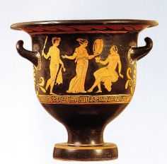 Cratere apulo a campana, IV a.C. Museo Civico Ala Ponzone, Cremona. Cultura greca e magno-greca
