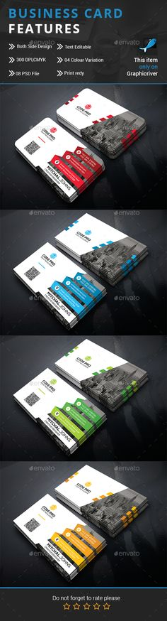 Business Card Template PSD. Download here: https://graphicriver.net/item/business-card/17449079?ref=ksioks