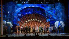 Something Rotten! cast rehearses for its 2015 Tony Awards performance Tony Awards  #TonyAwards