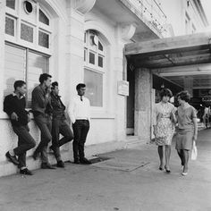 Ans Westra Main St, Wairoa , 1964 Silver gelatin print 278 x 278 mm _______ Documentary Photographers, Artist Life, Photojournalism, Auckland, New Zealand, Documentaries, Art Gallery, Street View, Museum