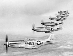 P-51 Mustang Squadron