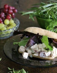"The addition of fresh grapes and tarragon, with just a hint of Dijon mustard makes this chicken salad worthy of the title ""Best Ever""!"