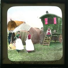 Gypsy caravan by solarbreeze69, via Flickr