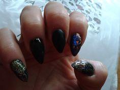 new years eve acrylic nails