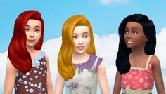 Mystufforigin: Long Wavy Classic for Girls  - Sims 4 Hairs - http://sims4hairs.com/mystufforigin-long-wavy-classic-for-girls/