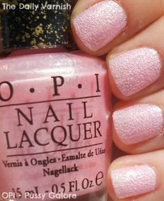 OPI James Bond Girl Collection Pussy Galore