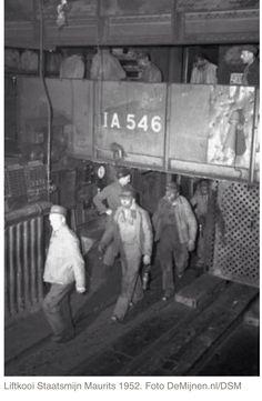 Liftkooi Staatsmijn Maurits, 1952