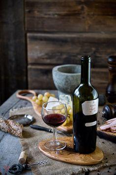 Still life with wine