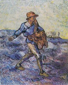 The Sower (After Millet) 1889; Saint-rémy-de-provence, France