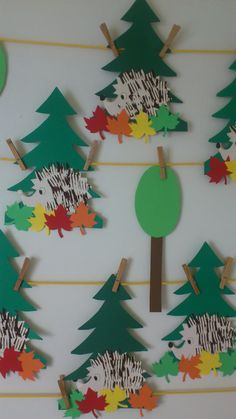 Diy And Crafts, Autumn, Crafty, Christmas Ornaments, Holiday Decor, Children, Firs, Hedgehog, Crafting