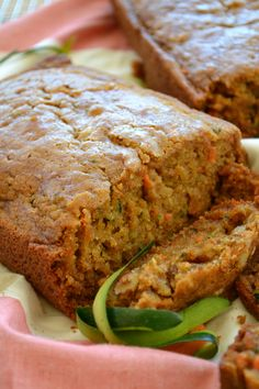 Zucchini carrot bread gluten free easy spices amazing