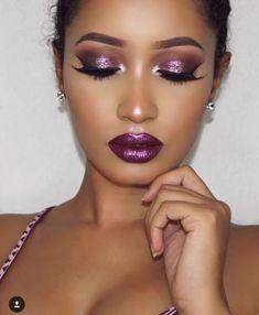 makeup green – Hair and beauty tips, tricks and tutorials Dark Skin Makeup, Sexy Makeup, Glamorous Makeup, Gorgeous Makeup, Pretty Makeup, Love Makeup, Beauty Makeup, Hair Makeup, Makeup Goals