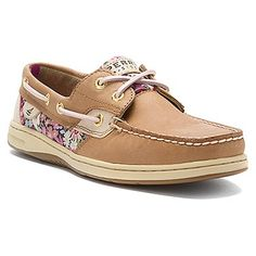 Sperry top Sider bluefish 2 eye floral