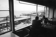 Cafe in Pike Place Market, 1972