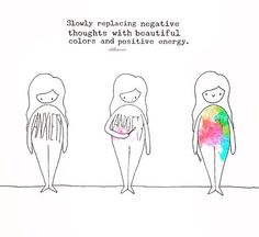 replace negative thoughts with positive energy. That's how you make a positive life