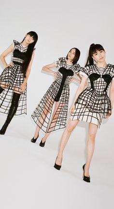Tight Dresses, Short Sleeve Dresses, Perfume Jpop, Art Reference Poses, Kawaii, Alice, Entertainment, Girls, Artist