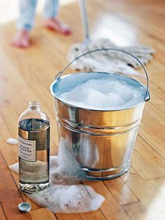 Cleaning hardwood floors is so simple! You don't need a lot of cleaning products - we have cleaning tips that will restore the look of your floors. Don't forget to check out our steps on how to remove scratches and marks on your wood floors.
